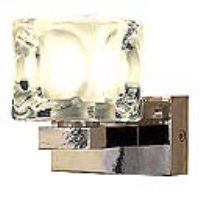 151250 Blox I G9 Chrome Wall Light