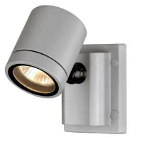 233104 New Myra GU10 Wall And Ceiling Light In Silver Grey