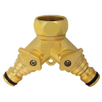 Two way threaded tap connector G7918