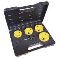 Holesaw kit 6 piece downlighter 424046