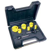 Holesaw kit 9 piece electrician 424045