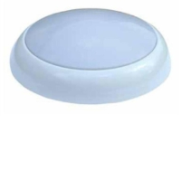 28W 2D High Frequency IP65 Bulkhead (Emergency Version) White / Opal