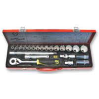 "Socket Set Metric 1/2"" Drive T4657"