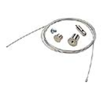 145810 Eutrac Wire Suspension In Chrome 3 Metre Version For 3 Circuit Track