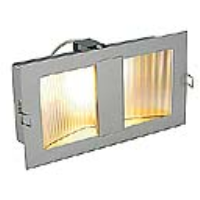 SLV Lighting 151974 Downunder Mid Recessed Indoor Wall Light