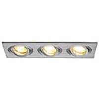SLV Lighting 111353 New Tria III, MR16 Recessed Low Voltage Rectangular Downlight