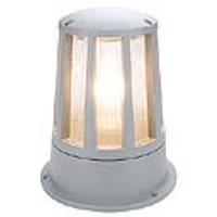 SLV Lighting 230434 Cone Outdoor Mini Bollard Light In Silver Grey