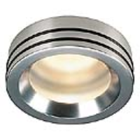 SLV Lighting 111432 Doru MR16 20w IP65 Waterproof Recessed Downlight In A Satin Finish