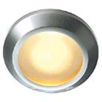 SLV Lighting 111542 Calu MR16 20w IP65 Waterproof Recessed Downlight In Brushed Aluminium