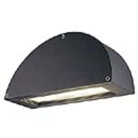 SLV Lighting 229890 Pema Outside Low Energy Wall Light In Black