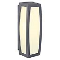 SLV Lighting 230045 Meridian Box IP54 Outside Wall Light In Anthracite