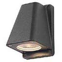 SLV Lighting 227195 Wallyx GU10 Outdoor Wall Light In Anthracite