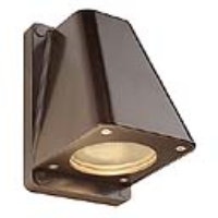 SLV Lighting 227198 Wallyx GU10 Outdoor Wall Light In Antique Bronze