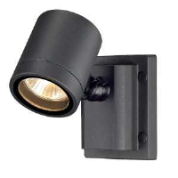SLV Lighting 233105 New Myra GU10 Wall And Ceiling Light In Anthracite