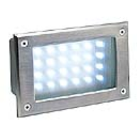 SLV Lighting 229121 Brick LED 24 Stainless Steel IP54 Brick Light