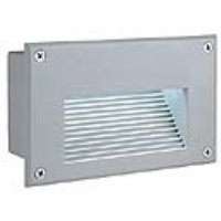 SLV Lighting 229701 Brick LED Downunder IP54 Brick Light In Silver Grey