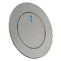 SLV Lighting 146381 GilaLED Recessed LED Wall Light With White / Blue LED