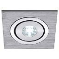SLV Lighting 111871 Lelex 1 LED Downlight In Brushed Aluminium With A White LED