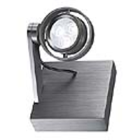 SLV Lighting 147761 Kalu II LED 3 Indoor LED Wall Light In Brushed Aluminium With A White LED