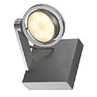 SLV Lighting 147781 Kalu II LED 6 Indoor LED Wall light In Brushed Aluminium With A White LED