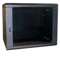 Excel WB9.5SGB 9U 500mm Deep Wall Box In Black