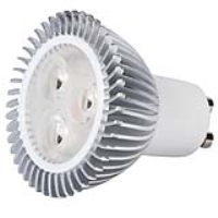 KSR Lighting KSRLP855 4.9w Dimmable Retro Fit GU10 LED Lamp In Cool White 5000k