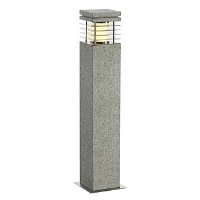 SLV Lighting 231411 Arrock Granite 70 Square Garden Bollard Light