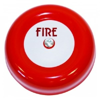 """Channel Safety Systems F/CHBL/6 /1 6"""" Red Fire Bell"""