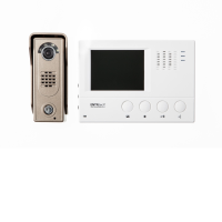 """Channel Safety Systems D/ENT/KIT/1/WH/SL ENTRitech 4"""" Hands Free Video Kit With Slimline Camera"""