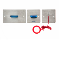 Channel Safety Systems N/Hark+ Stainless Steel Disabled Toilet Alarm Kit With Battery Back Up
