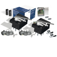 CAME FrogPlus-P5 230 Volt Underground Electric Gate Opening Kit For A Pair Of Swing Gates Up To 5.5 Metres Each Leaf