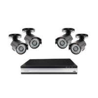 Channel Safety Systems T/CCTV/KIT1/AHD Professional 4 Bullet Camera AHD CCTV Kit With Wi-Fi Viewing