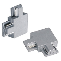 SLV Lighting 188042 Corner Connector In Silver Grey