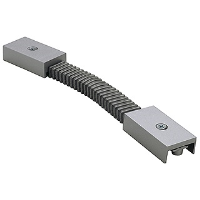 SLV Lighting 188182 Flex Connector In Silver Grey
