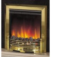Dimplex LXY15 Loxley Inset Brass Fire Place