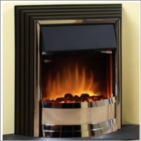 Dimplex ZAM20 Zamora Freestanding Optiflame Effect Electric Fire Place