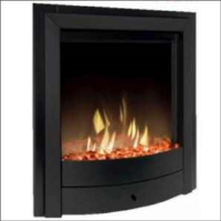 Dimplex X1B Optiflame Effect Electric Fire In Black