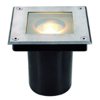 SLV Lighting 229374 Dasar Square IP67 GU10 Recessed Ground Light