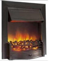 Dimplex DAN20BL Danesbury Optiflame Effect Electric Fire In Black