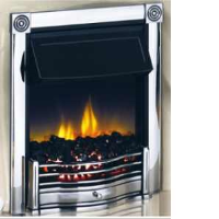 Dimplex HTN20CH Horton Inset Electric Fire In Chrome