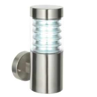 Saxby Lighting 49909 Equinox Marine Grade 316L Stainless Steel Wall Light