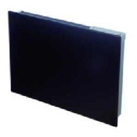 Dimplex GFP100BE Girona 1kW Wall Mounted Panel Heater In Black