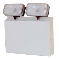 IP20 2x20w 110 Volt Halogen Emergency Twin Spot In White