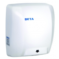 Deta 1019WH 1.8kW High Speed Heavy Duty Automatic Hand Dryer In White
