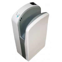 Veltia VUKBL001 V7 Tri-Blade Hand Dryer In Snow White
