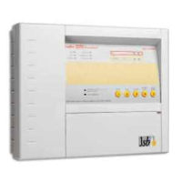 JSB FX2204CPD 4 Zone Conventional Fire Alarm Panel Complete With Battery