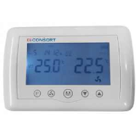 Consort Claudgen CRX2 Wireless Thermostat And Time Controller