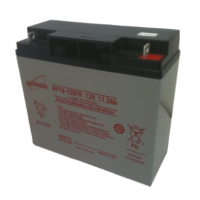 NP18-12 Genesis NP Series 12 Volt 17.2Ah Lead Acid Battery