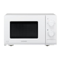 Daewoo KOR7LC7 20 Litre Manual Control Microwave In White