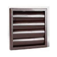 "100mm (4"") Gravity Grille In Brown"